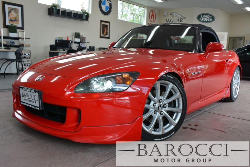 2006 Honda S2000 Base 2dr Convertible 6 Speed Man Red Power Door Locks Vehicle Anti-Theft ABS