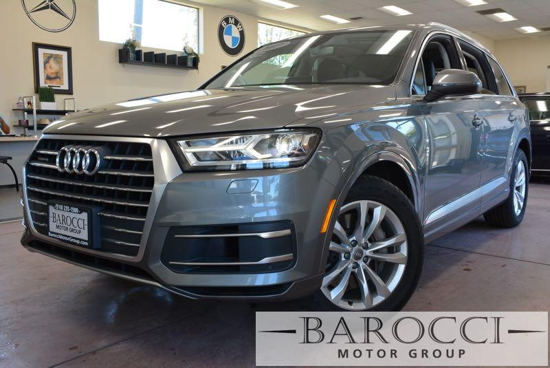 2017 Audi Q7 30T quattro Premium AWD  4dr SUV 8 Speed Auto Gray Black Child Safety Door Locks