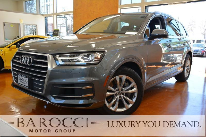 2017 Audi Q7 30T quattro Premium Plu AWD 8 Speed Auto Gray Black You are looking at an excelle