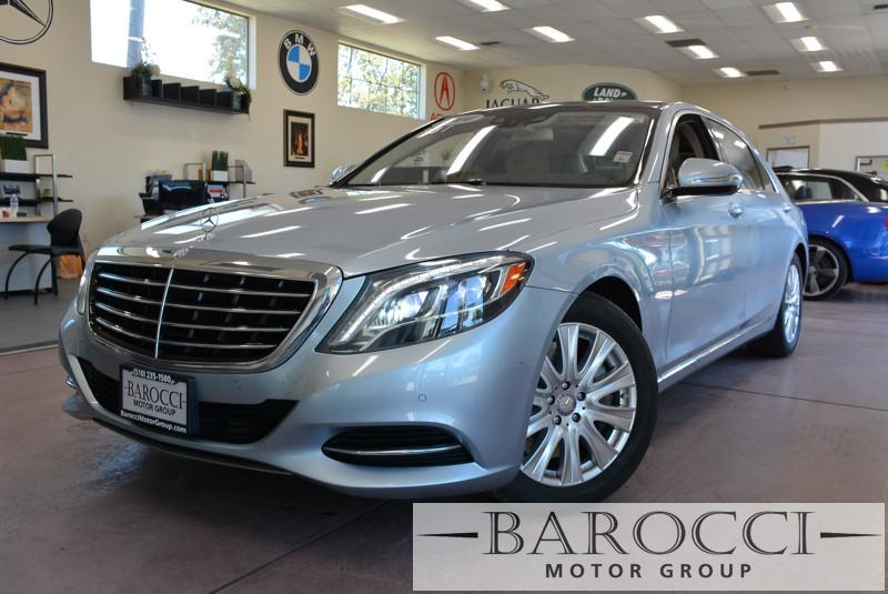 2014 MERCEDES S-Class S550 4dr Sedan 7 Speed Auto Silver Beige Child Safety Door Locks Power D
