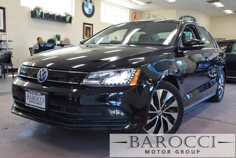 2015 Volkswagen Jetta Hybrid SEL Premium 4dr Sedan 7 Speed Auto Black We are excited to offer a
