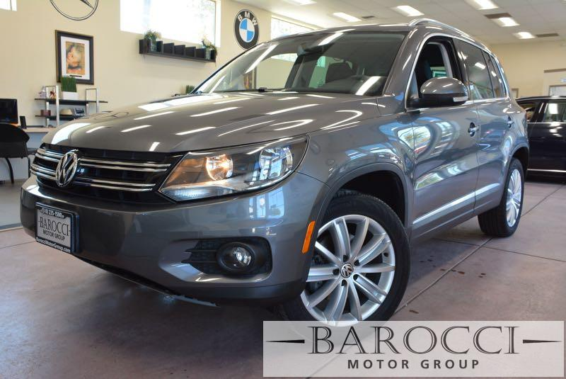 2014 Volkswagen Tiguan SE 4Motion AWD  4dr SUV 6 Speed Auto Gray This is an exquisite one owner