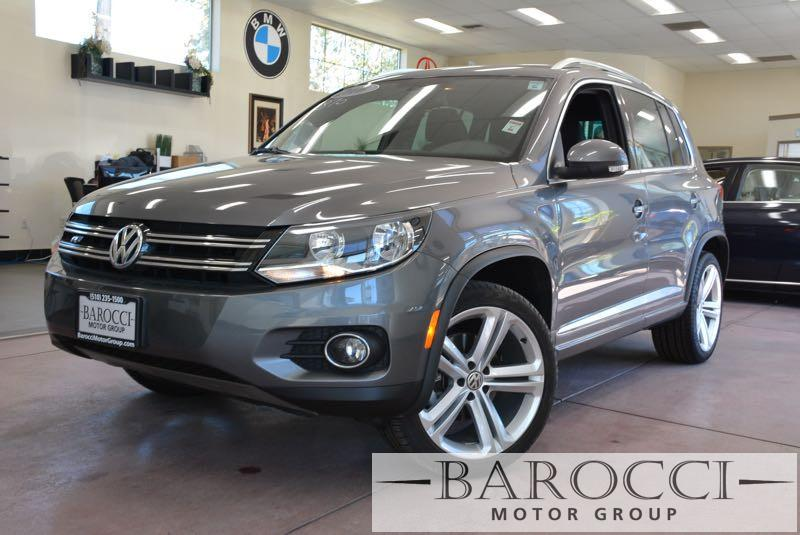 2016 Volkswagen Tiguan 20T R-Line 4dr SUV 6 Speed Auto Gray Black Up for sale is a sublime 201