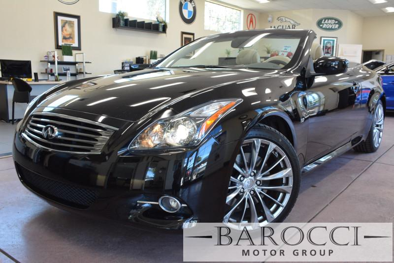 2014 Infiniti Q60 Convertible 2dr Convertible 7 Speed Auto Black Tan Now for sale is a beautifu