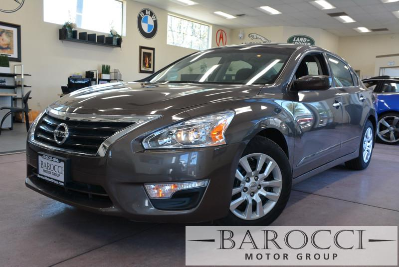 2014 Nissan Altima 25 S 4dr Sedan Continuously Variable Transmission  Dk Brown Child Safety Do