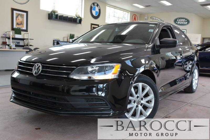 2015 Volkswagen Jetta S 4dr Sedan 6A 6 Speed Auto Black This is a wonderful one owner 2015 Volks