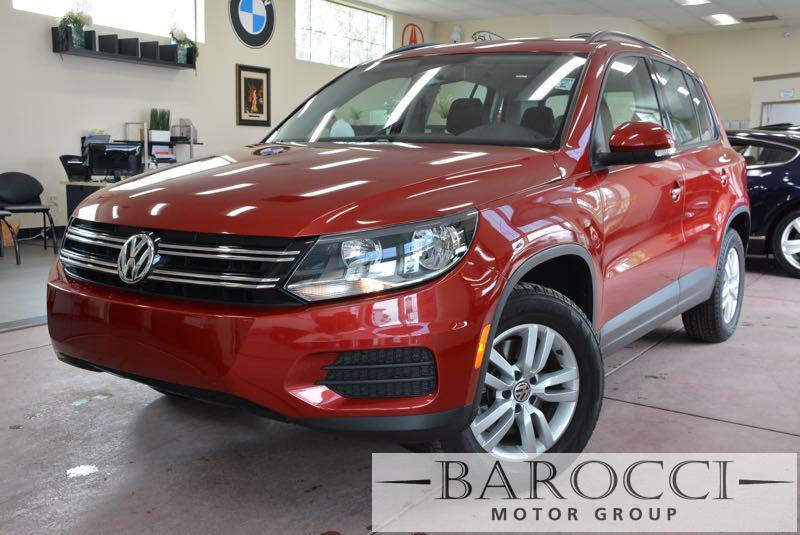 2015 Volkswagen Tiguan S 4dr SUV 6 Speed Auto Red Up for sale is an exquisite one owner 2015 Vol