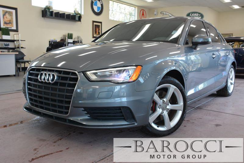 2015 Audi A3 18T Premium 4dr Sedan 6 Speed Auto Gray Black Bluetooth Connection Dual Zone A C