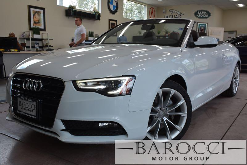 2014 Audi A5 20T quattro Premium Plus AWD 8 Speed Auto White Brown This is a striking 2014 Aud