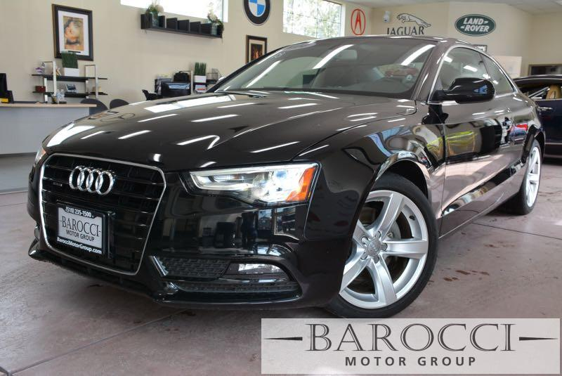 2014 Audi A5 20T quattro Premium AWD  2dr Coupe 8 Speed Auto Black Black ABS Air Conditioning