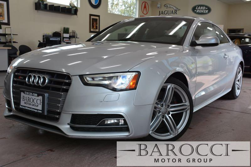 2013 Audi S5 30T quattro Premium AWD  2dr Coupe 7 Speed Auto Silver Black ABS Air Conditionin