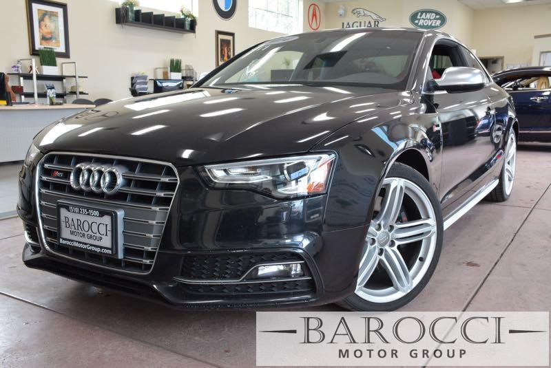 2014 Audi S5 30T quattro Premium AWD  2dr Coupe 7 Speed Auto Black Black ABS Air Conditioning