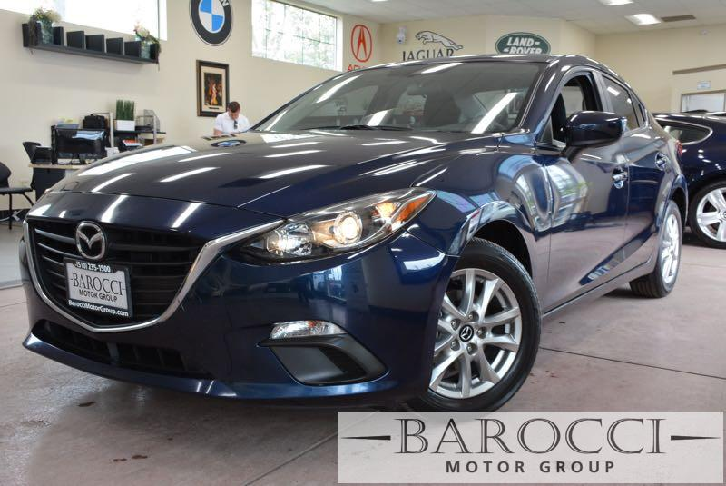 2014 Mazda MAZDA3 i Touring 4dr Sedan 6A 6 Speed Auto Blue Black Child Safety Door Locks Power