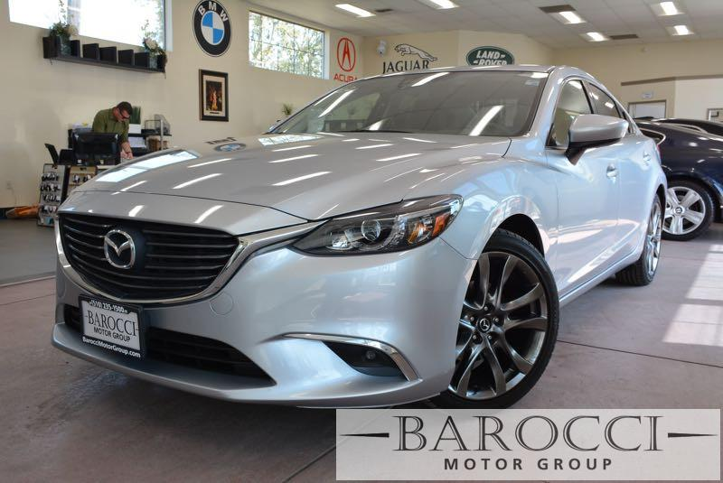 2016 Mazda MAZDA6 i Grand Touring 4dr Sedan 6 Speed Auto Gray ABS Air Conditioning Alarm Allo