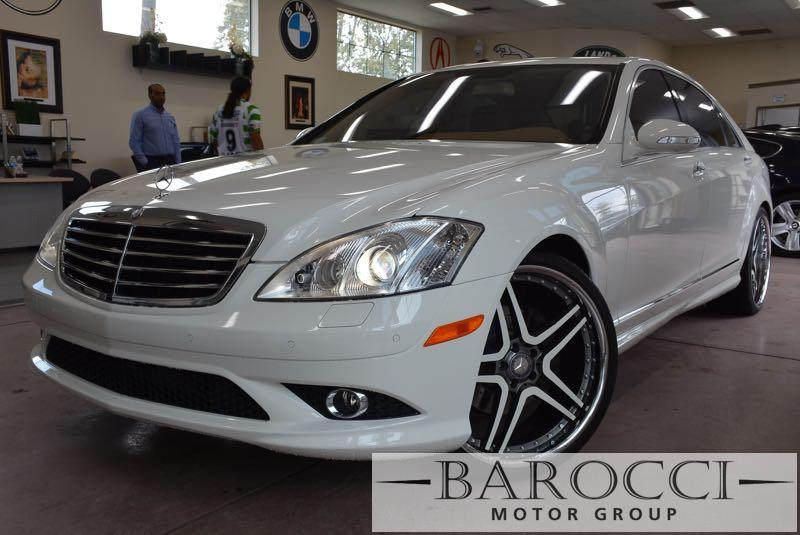2008 MERCEDES S-Class S550 4dr Sedan 7 Speed Auto White Brown Power Door Locks Vehicle Anti-Th