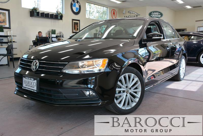 2015 Volkswagen Jetta SE 4dr Sedan 6A 6 Speed Auto Black Black This is this fantastic one owner