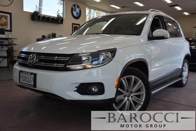 2015 Volkswagen Tiguan SEL 4dr SUV 6 Speed Auto White NAVIGATION SYSTEM BACKUP CAMERA BLUETOOT