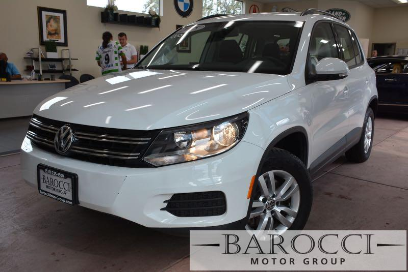 2015 Volkswagen Tiguan S 4dr SUV 6 Speed Auto White Child Safety Door Locks Power Door Locks V