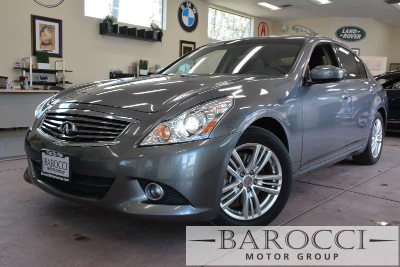 2013 Infiniti G37 Sedan Journey 4dr Sedan 7 Speed Auto Gray Black Up for sale is a striking one