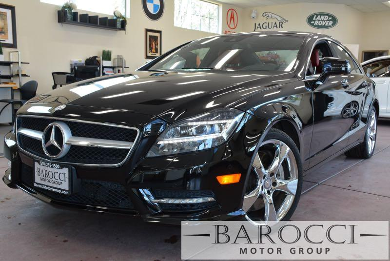 2014 MERCEDES CLS CLS550 4dr Sedan 7 Speed Auto Black Red Now offering an outstanding one owner