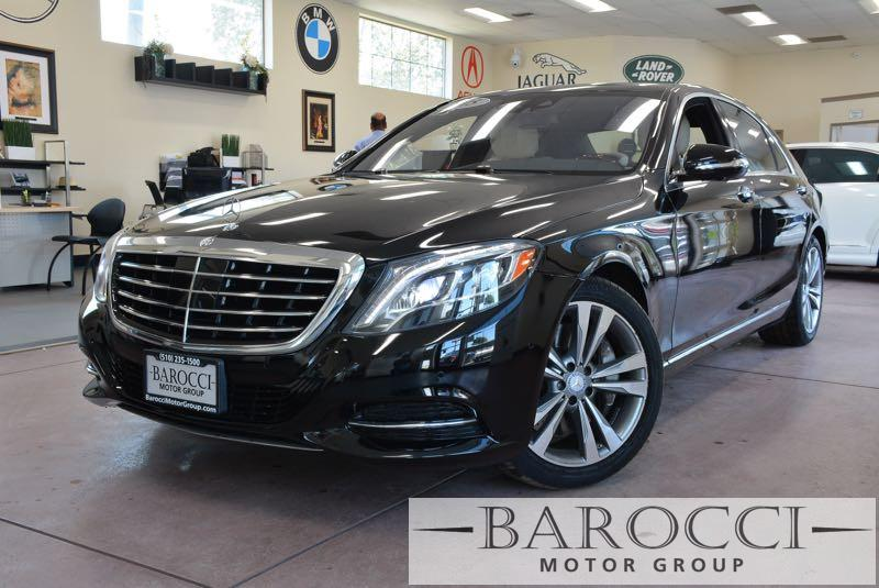 2015 MERCEDES S-Class S550 4dr Sedan 7 Speed Auto Black White Beautiful S550 Loaded with option