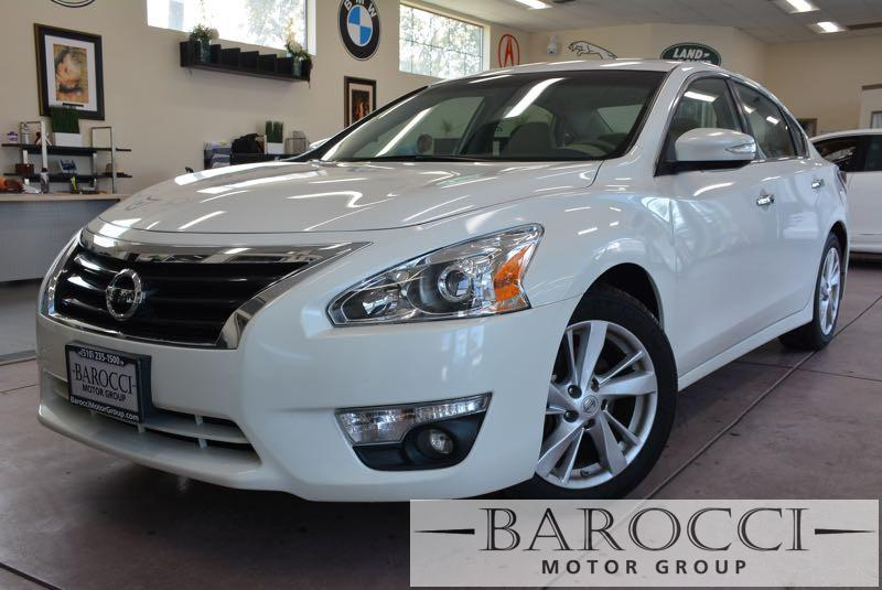 2015 Nissan Altima 25 SV 4dr Sedan Continuously Variable Transmission  White Beige Now for sal