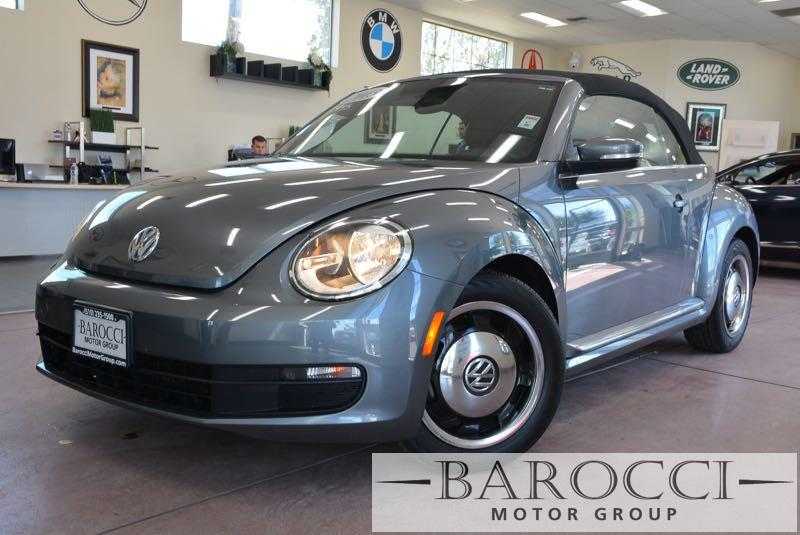 2013 Volkswagen Beetle 25L PZEV 2dr Convertible 6A 6 Speed Auto Gray Now for sale is a beautifu