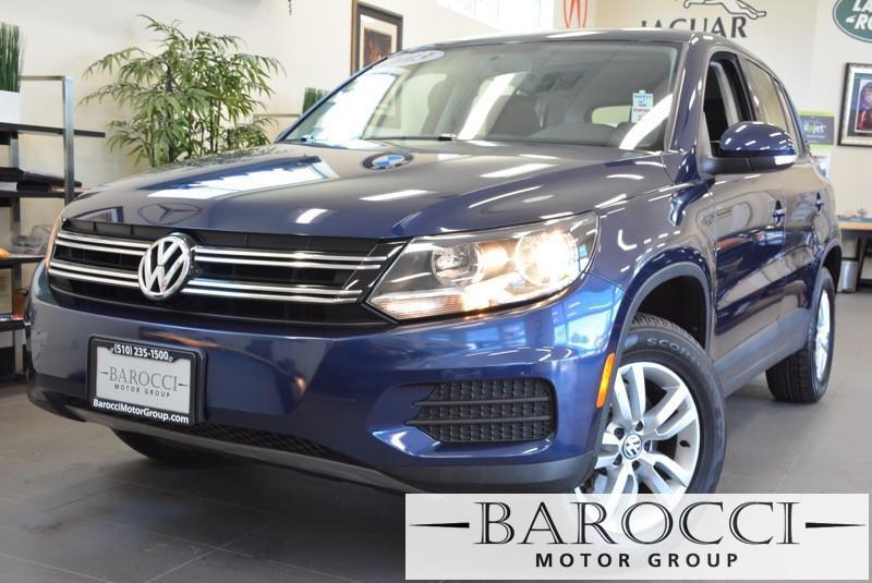 2013 Volkswagen Tiguan S 4dr SUV 6A 6 Speed Auto Blue Black ABS Air Conditioning Alarm Alloy