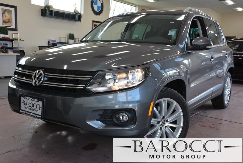 2014 Volkswagen Tiguan SE 4dr SUV 6 Speed Auto Silver Black ABS Air Conditioning Alarm Alloy