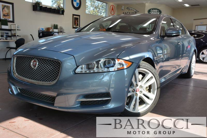 2014 Jaguar XJL Portfolio 4dr Sedan 8 Speed Auto Lt Blue Brown You are looking at an excellent