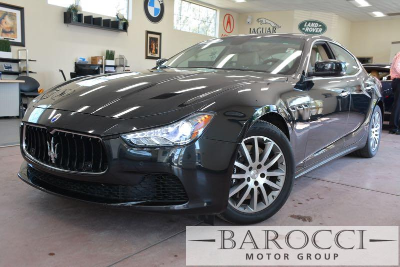 2014 Maserati Ghibli S Q4 AWD  4dr Sedan 8 Speed Auto Black We are proud to offer a delightful 2