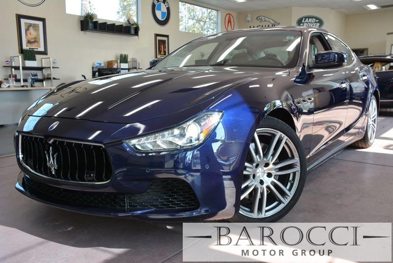 2014 Maserati Ghibli S Q4 AWD  4dr Sedan 8 Speed Auto Dk Blue We are proud to offer a superb 20