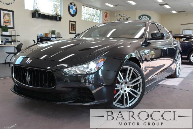 2014 Maserati Ghibli S Q4 AWD  4dr Sedan 8 Speed Auto Black We are proud to offer a very nice 20