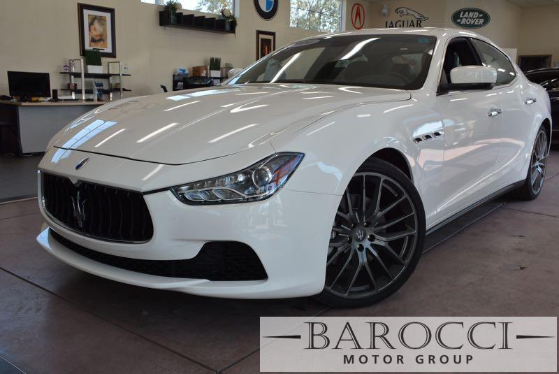2014 Maserati Ghibli Base 4dr Sedan 8 Speed Auto White We are proud to offer a fabulous 2014 Mas