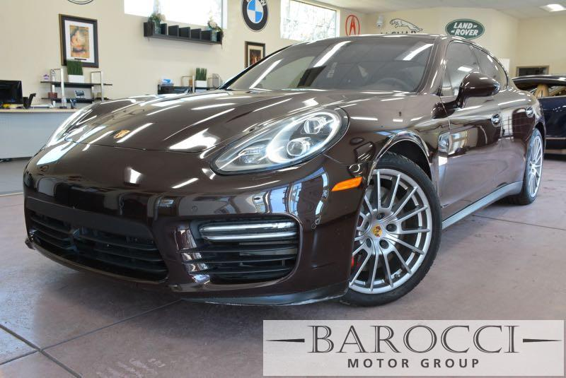 2014 Porsche Panamera GTS AWD  4dr Sedan 7 Speed Auto Dk Brown Brown This is an exquisite 2014