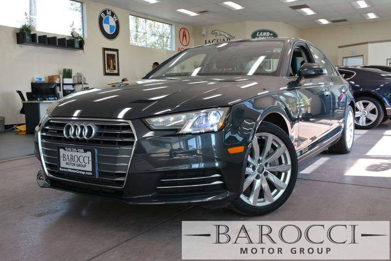 2017 Audi A4 20T quattro Premium AWD  4dr Sedan 7 Speed Auto Gray Black We are proud to offer