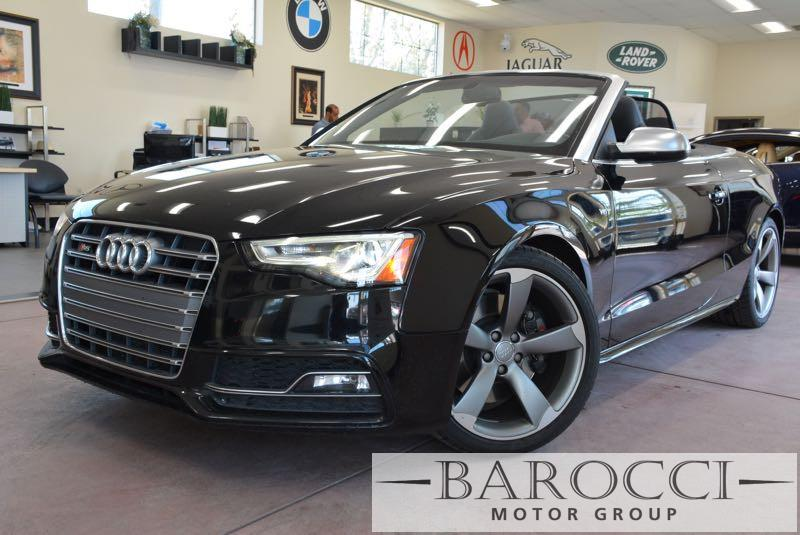 2015 Audi S5 30T quattro Premium AWD  2dr Conve 7 Speed Auto Black Black This is this fantasti