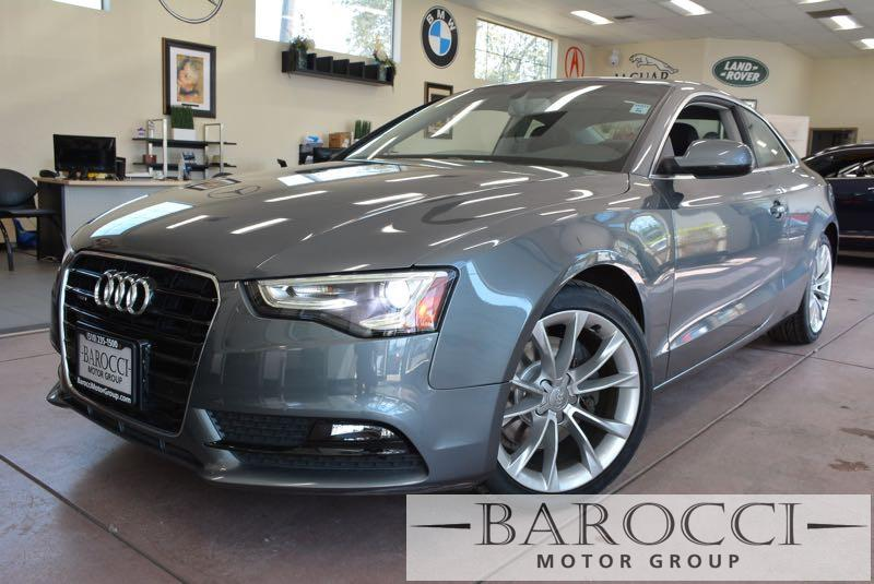 2014 Audi A5 20T quattro Premium AWD  2dr Coupe 8 Speed Auto Gray Black We are excited to offe