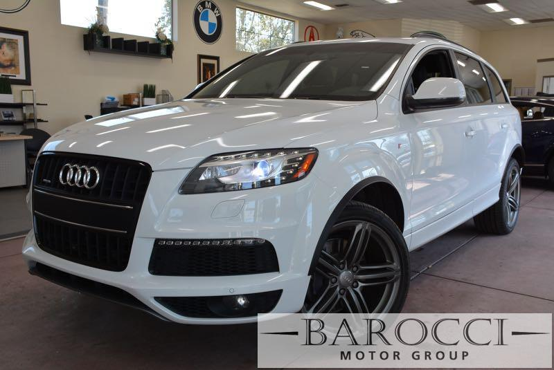 2014 Audi Q7 30T quattro S line AWD  4dr SUV 8 Speed Auto White Black We are excited to offer