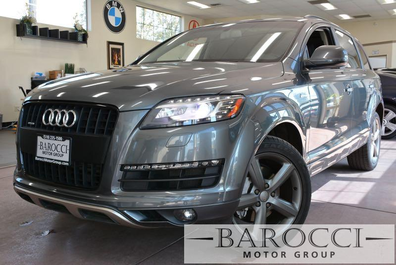 2015 Audi Q7 30T quattro Premium Plu AWD 8 Speed Auto Gray Black We are proud to offer a super