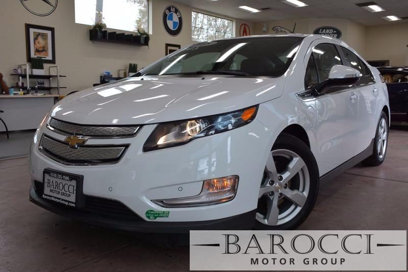 2015 Chevrolet Volt Premium 4dr Hatchback 1 Speed Auto White Black We are pleased to offer an i