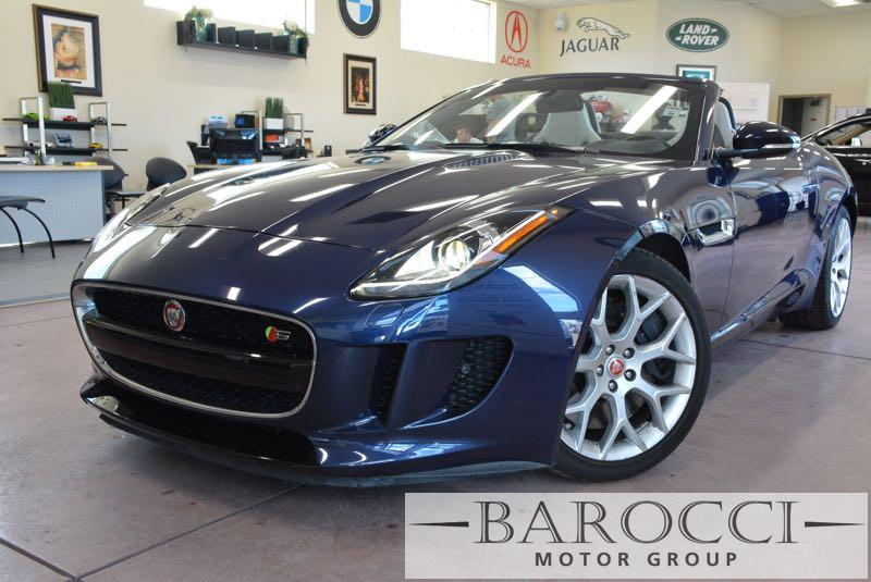 2016 Jaguar F-TYPE S 2dr Convertible 8A 8 Speed Auto Blue Gray We are pleased to offer a very n