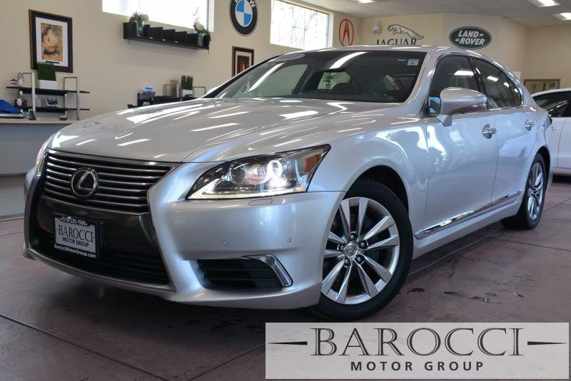 2013 Lexus LS 460 Base 4dr Sedan 8 Speed Auto Silver Black This is a delightful 2013 Lexus LS 4