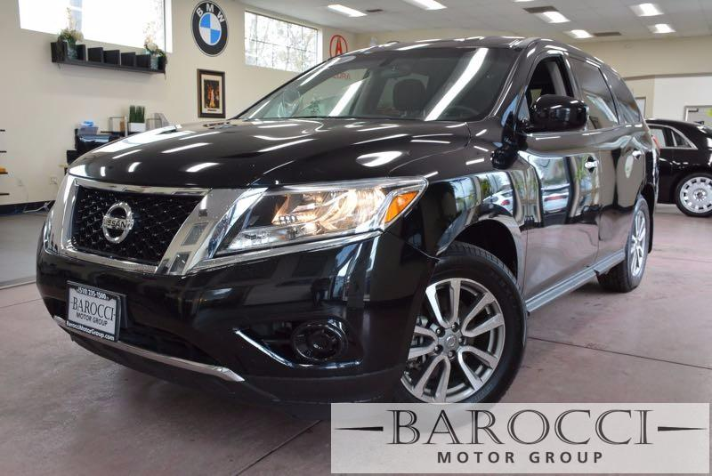 2014 Nissan Pathfinder S 4dr SUV Continuously Variable Transmission Black Black You are looking