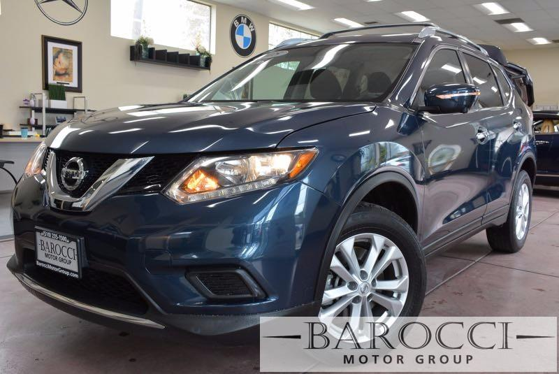 2015 Nissan Rogue SV AWD  4dr Crossover Blue Stock 4006 VIN 5N1AT2MK1FC872371