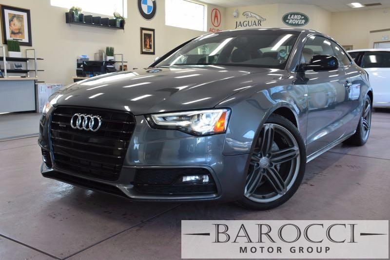 2014 Audi A5 20T quattro Premium AWD  2dr Coupe 8 Speed Auto Gray Black We are pleased to offe