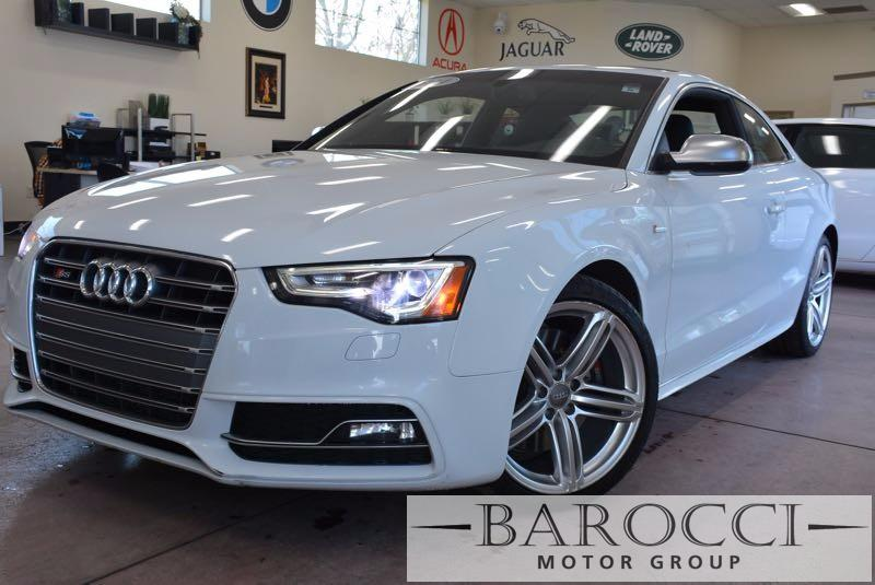 2014 Audi S5 30T quattro Premium AWD  2dr Coupe 7 Speed Auto White Black We are proud to offer
