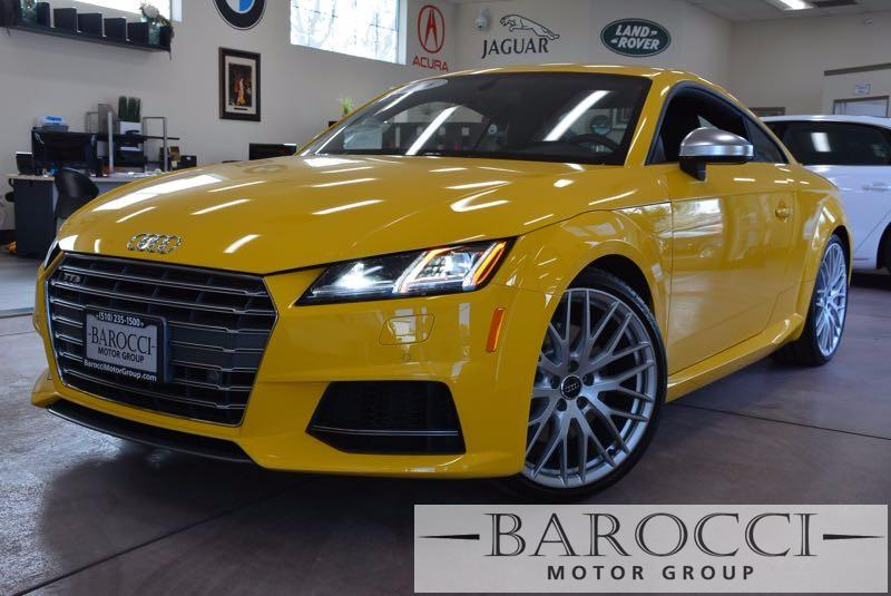 2016 Audi TTS 20T quattro AWD  2dr Coupe 6 Speed Auto Yellow Black Now offering a striking 201
