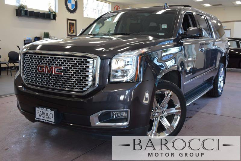 2016 GMC Yukon XL Denali 4WD 6-Speed Automatic Gray Black Now for sale is a wonderful one owner