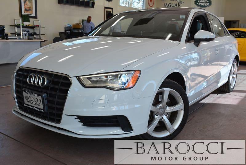 2015 Audi A3 18T Premium 4dr Sedan 6 Speed Auto White Now offering a delightful one owner 2015